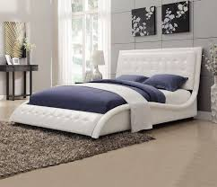 appealing minimalist queen bed frame with headboard application