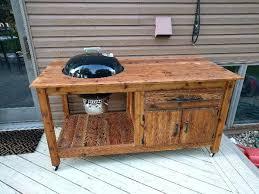diy grill table plans diy grill table diy outdoor grill table eurecipe com