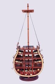 decoration de bateau hms victory cross section modèle de bateau en bois unique