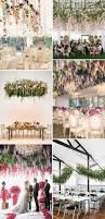 hanging wedding flowers the biggest boldest trend for wedding
