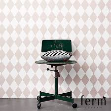 harlequin wallpaper rose ferm living metropolitandecor