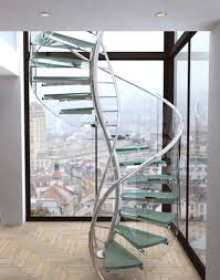 Glass Staircase Design Stylish Spiral Staircase Design Inspiration Envisioned Floating