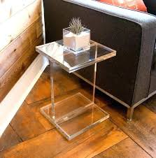 bedside table amazon clear side table acrylic acrylic side table large size of bedside