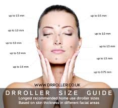 Face Acne Map What Size Derma Roller Should I Use U2013 Derma Rollers Betterkin By