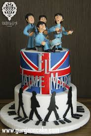 beatles cake toppers 64th birthday cake toppers