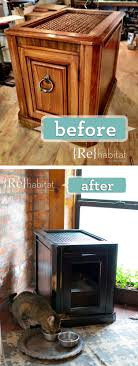 litter box side table diy ideas for hiding the litter box a pet sitting and dog walking