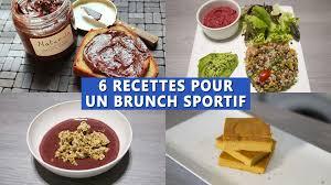 cuisine pour sportif 6 recettes pour un brunch sportif