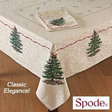 spode tree linens new seasonal new