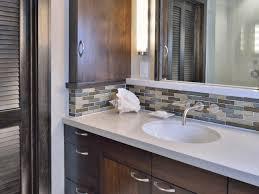 Tile Backsplash Photo On Bathroom Backsplash Bathrooms Remodeling - Tile backsplash bathroom
