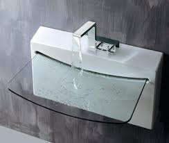wall mount glass sink wall mount glass sink uses its collaborations with designers from