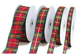 plaid ribbon christmas plaid ribbon us box corp