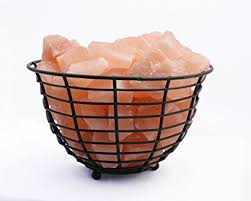 himalayan glow ionic crystal salt basket l amazon com accentuations by manhattan comfort 9 himalayan salt