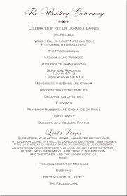 Wording For Wedding Programs Wedding Programs Wording Finding Wedding Ideas