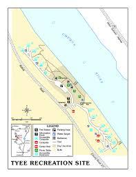 Map Roseburg Oregon by Tyee Recreation Site Tyee Recreation Site Has 15 Non Reser U2026 Flickr
