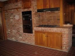 glamorous 70 brick kitchen interior design decoration of 74