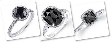 black wedding rings for black diamond engagement rings and