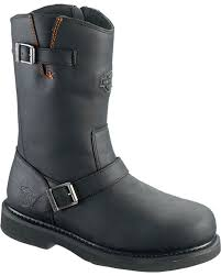 mens biker style boots harness boots for men sheplers
