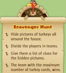 thanksgiving scavenger hunt printable thanksgiving autumn and bag