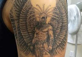 aztec warrior tattoos on arm for in 2017 photo pictures
