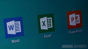 word app for android microsoft word excel and powerpoint apps now available for all