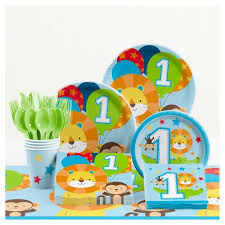1st birthday party supplies one is boy 1st birthday party supplies kit target