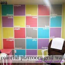 Paint Colorful - colorful playroom accent wall hometalk