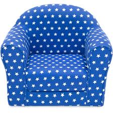 kids sofa chair w armrests blue u2013 best choice products