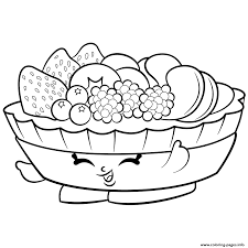exclusive fifi fruit tart to color shopkins season 2 coloring