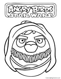 angry birds star wars u2013 obi wan kenobi 01 coloring coloring
