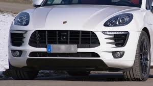 porsche macan white porsche macan diesel with kaege de active exhaust