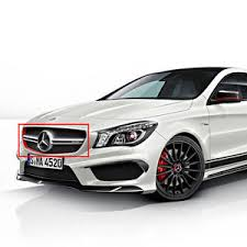 mercedes grill mercedes w117 45 amg edition 1 front grill adhesive