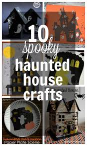 top 10 haunted house crafts for kids play dough u0026 popsicles