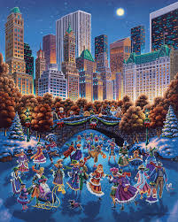 halloween jigsaw puzzle central park by eric dowdle puzzles and more puzzles