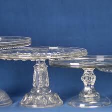 Crystal Pedestal Cake Stand Vintage And Antique Cake Stands Collectors Weekly