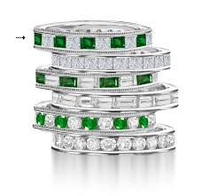 emerald bands rings images Eternity rings diamond eternity rings wedding rings anniversary jpg
