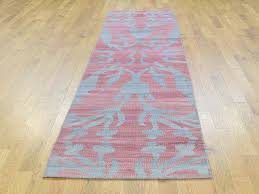 Flat Weave Runner Rugs 2 6 X10 1 Woven Wool Reversible Kilim Flat Weave Runner