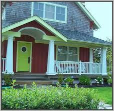 exterior paint colors with red brick exterior farmhouse red brick