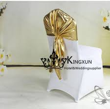 Gold Spandex Chair Covers Aliexpress Com Buy Gold Bronzing Lycra Spandex Chair Hood