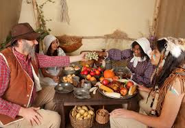 thanksgiving dinner table stock photo image of indigenous 15846430