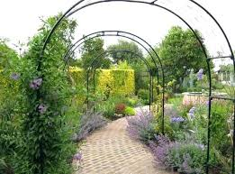 wooden arch for garden full image for large arch garden mirror