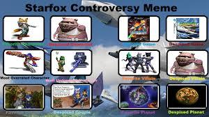 Star Fox Meme - starfox controversy meme by foxboy614 on deviantart