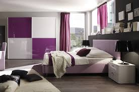 chambre adultes design chambre adulte complète design lilas coloris blanc lilas laqué