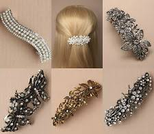 barrette hair silver barrettes hair ebay