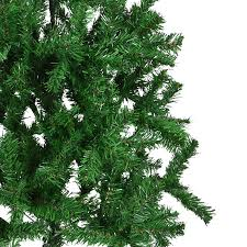 artificial green trees festive snow tipped pine cone