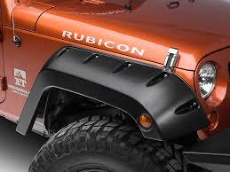 2011 jeep wrangler fender flares bushwacker jeep wrangler pocket style front fender flares 10077 02
