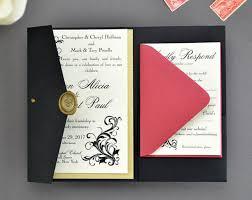 invitation pockets my diy story archives cards pockets design idea