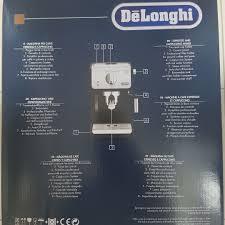 si e pour le dos delonghi coffee maker ecp 33 21 kitchen appliances on carousell