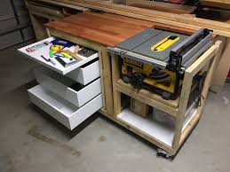 dewalt jobsite table saw accessories woodworking dewalt table saw stand dave bywaters