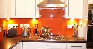 Orange And White Kitchen Ideas I U0027d Want A Kitchen Like This With A Lighter And Brighter Shade Of