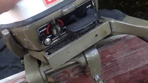 1975 9 9hp johnson outboard youtube